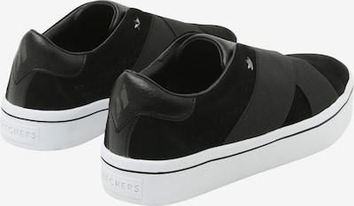 SKECHERS Sneakers 'Hi-Lite' in schwarz / weiß: Rückansicht