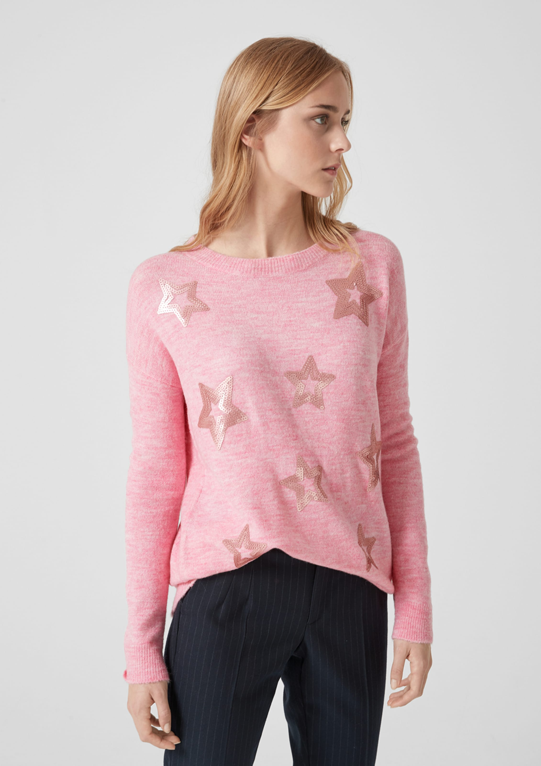 Pullover Pullover S Pink S oliver In In S oliver Pullover In oliver Pink HWI2E9D