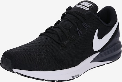 Sneaker de alergat 'Air Zoom Structure 22' NIKE pe negru / alb, Vizualizare produs