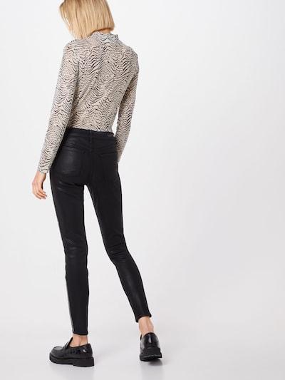 Kelnės 'Sarah Ankle Skinny Mist' iš Articles of Society , spalva - juoda / Sidabras: Vaizdas iš galinės pusės