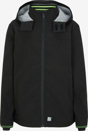 s.Oliver Junior Softshelljacke in schwarz, Produktansicht