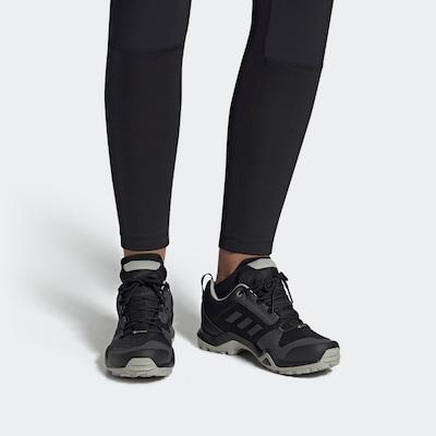 ADIDAS PERFORMANCE Niske cipele 'TERREX AX3 GORE-TEX' u tamo siva / crna: Prednji pogled