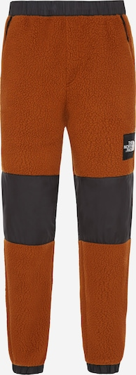 THE NORTH FACE Jogginghose 'Denali' in dunkelorange / schwarz, Produktansicht