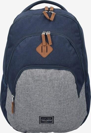 TRAVELITE Rucksack in blau / graumeliert, Produktansicht