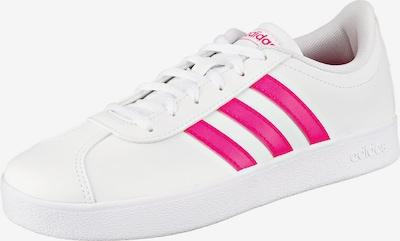 ADIDAS PERFORMANCE Sportschoen 'VL Court 2.0' in de kleur Pink / Wit, Productweergave