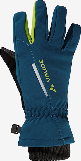 VAUDE Handschuhe in himmelblau / apfel / schwarz, Produktansicht
