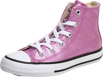 CONVERSE Sneaker im Glitzer-Look 'All Star HI BRIGHT'