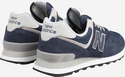 new balance Sneaker in navy: Rückansicht