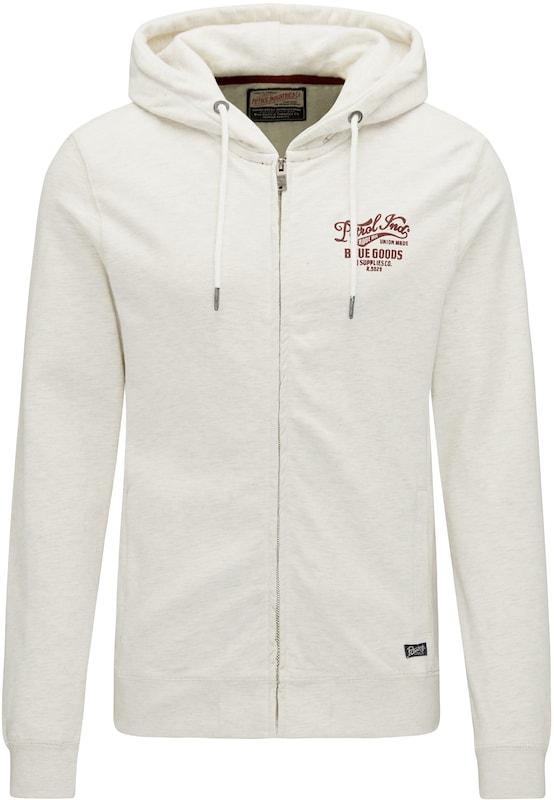 Lie Petrol Survêtement 'sweater Industries Naturel Blanc En Hooded' Vin De Veste Sr0tr