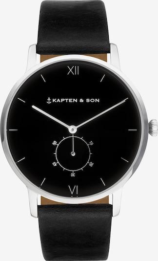 Kapten & Son Analogové hodinky 'Heritage Silver' - černá, Produkt