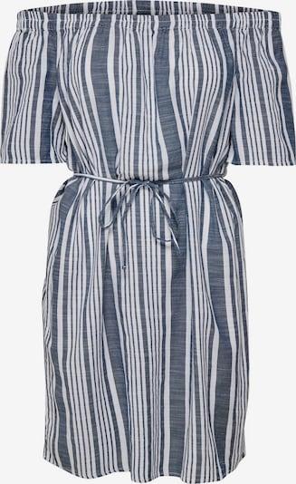 ONLY Kleid in blaumeliert / weiß, Produktansicht