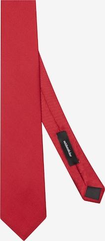 SEIDENSTICKER Krawatte ' Schwarze Rose ' in Rot