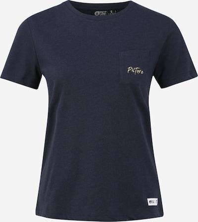 Picture Organic Clothing Funkční tričko 'TESSA' - tmavě modrá / žlutá, Produkt