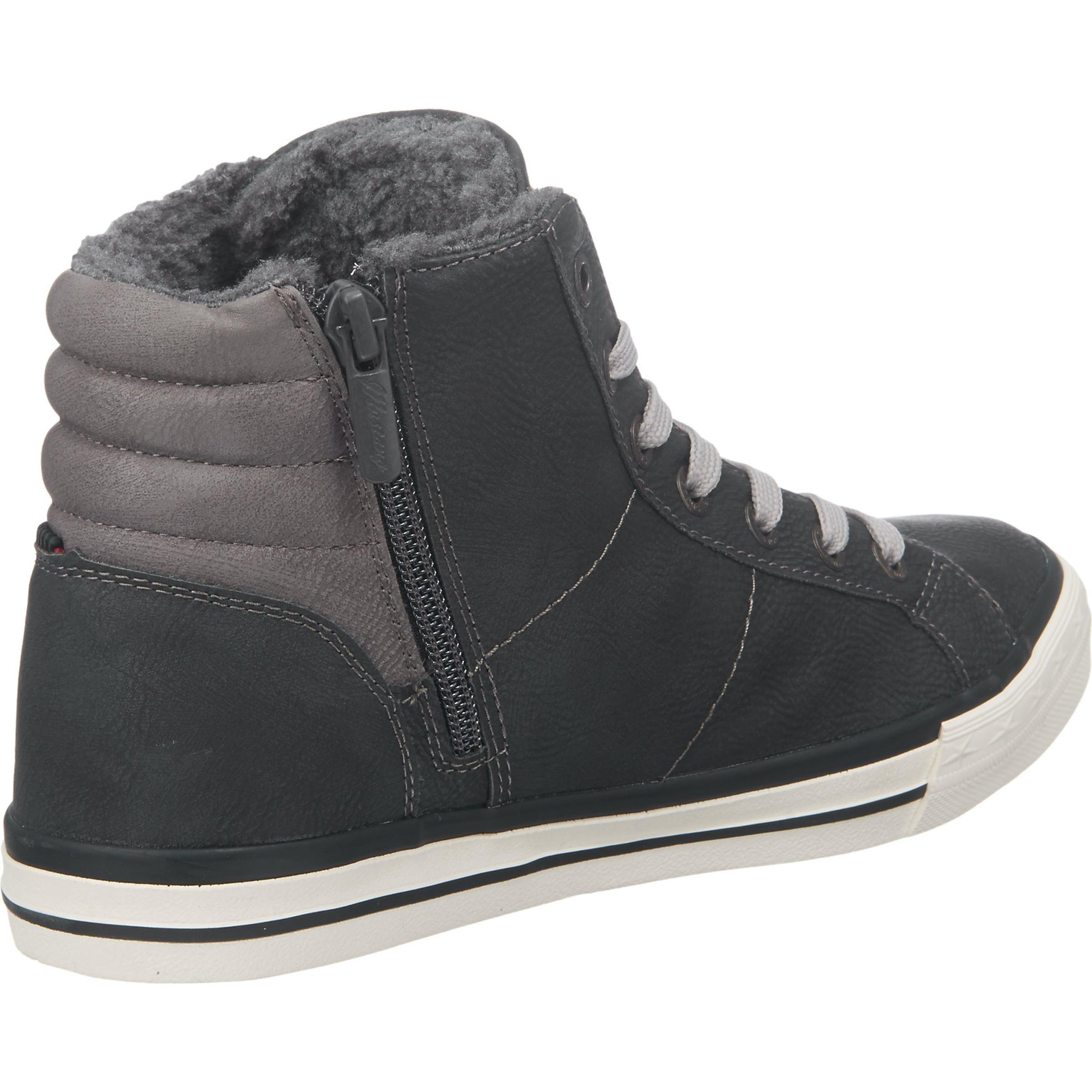MUSTANG Sneaker in Leder-Optik Billig Verkaufen Mode h4c9p