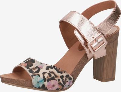 CAPRICE Sandaletten in rosegold / mischfarben, Produktansicht