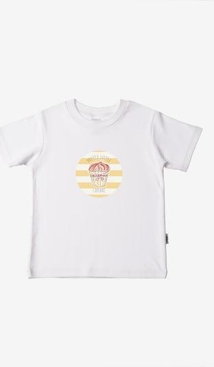 LILIPUT Shirt in pastellgelb / weiß, Produktansicht