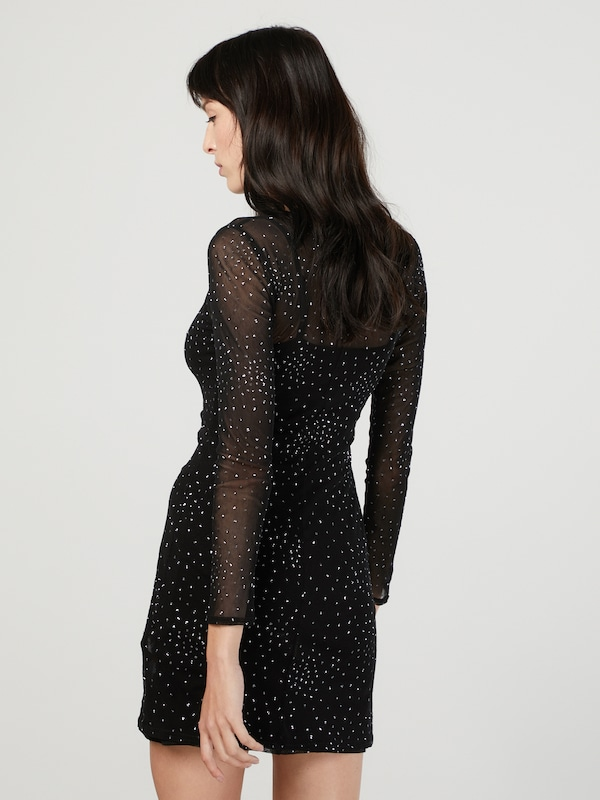 NEW LOOK Kleid 'GO GLITTER MESH'