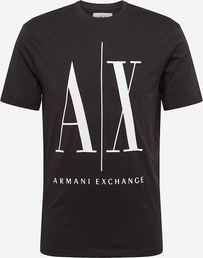 ARMANI EXCHANGE Tričko - černá: Pohled zepředu
