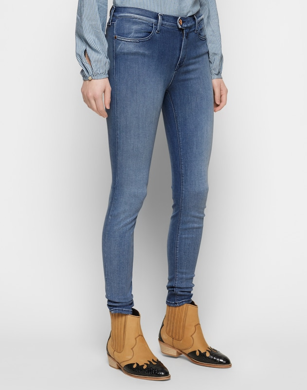 En Jean Replay Bleu 'touch' Denim Pw80Okn