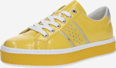 RIEKER Sneakers low in Yellow / White, Item view