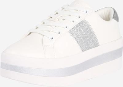 ALDO Baskets basses 'ELRIODIA' en argent / blanc, Vue avec produit