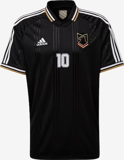 ADIDAS PERFORMANCE Functioneel shirt 'City Pack München ' in de kleur Goudgeel / Zwart / Wit, Productweergave