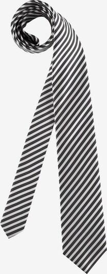 OLYMP Krawatte in grau / silber / weiß, Produktansicht