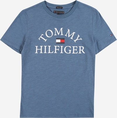 TOMMY HILFIGER Shirt 'ESSENTIAL' in blue / light blue, Item view