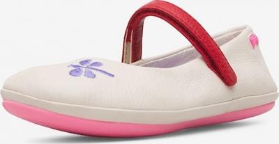 CAMPER Ballerinas 'Twins' in beige / neonpink, Produktansicht