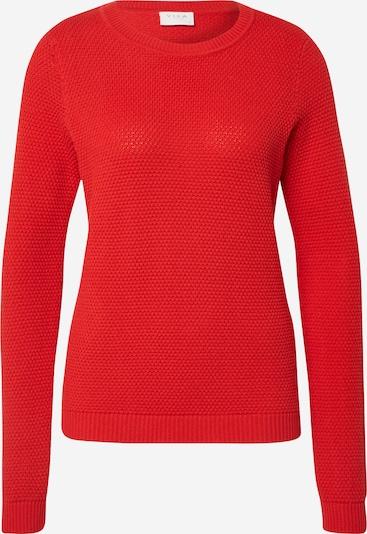 VILA Pullover 'VICHASSA' in rot, Produktansicht