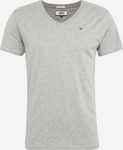 Tommy Jeans Majica 'TJM ORIGINAL JERSEY V NECK TEE' | siva barva, Prikaz izdelka