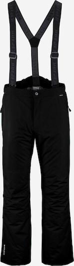 Pantaloni outdoor 'TRAVIS' ICEPEAK pe negru, Vizualizare produs