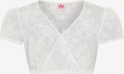 SPIETH & WENSKY Bluse 'Meghan' in weiß, Produktansicht