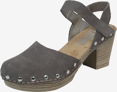 RIEKER Sandalette in taupe, Produktansicht