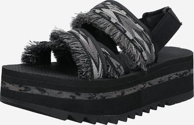 Sandalo TEVA di colore grigio chiaro / grigio scuro / nero, Visualizzazione prodotti