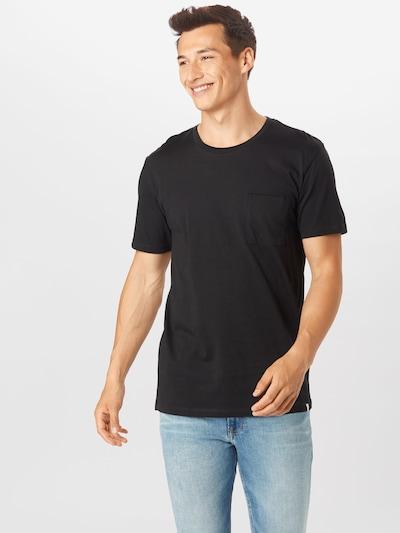 minimum T-Shirt 'Nowa' en noir: Vue de face
