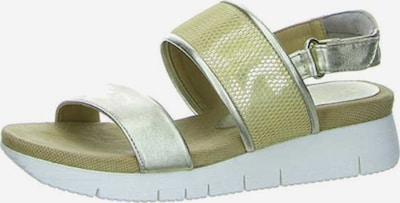 UNISA Sandalen in schilf / silber, Produktansicht