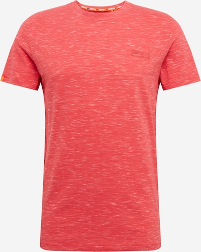 Superdry Shirt in hellrot: Frontalansicht