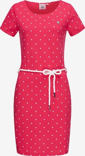 Peak Time Sommerkleid 'L80022' in pink / weiß, Produktansicht