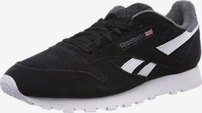 Reebok Classic Sneaker 'CL' in grau / schwarz: Frontalansicht