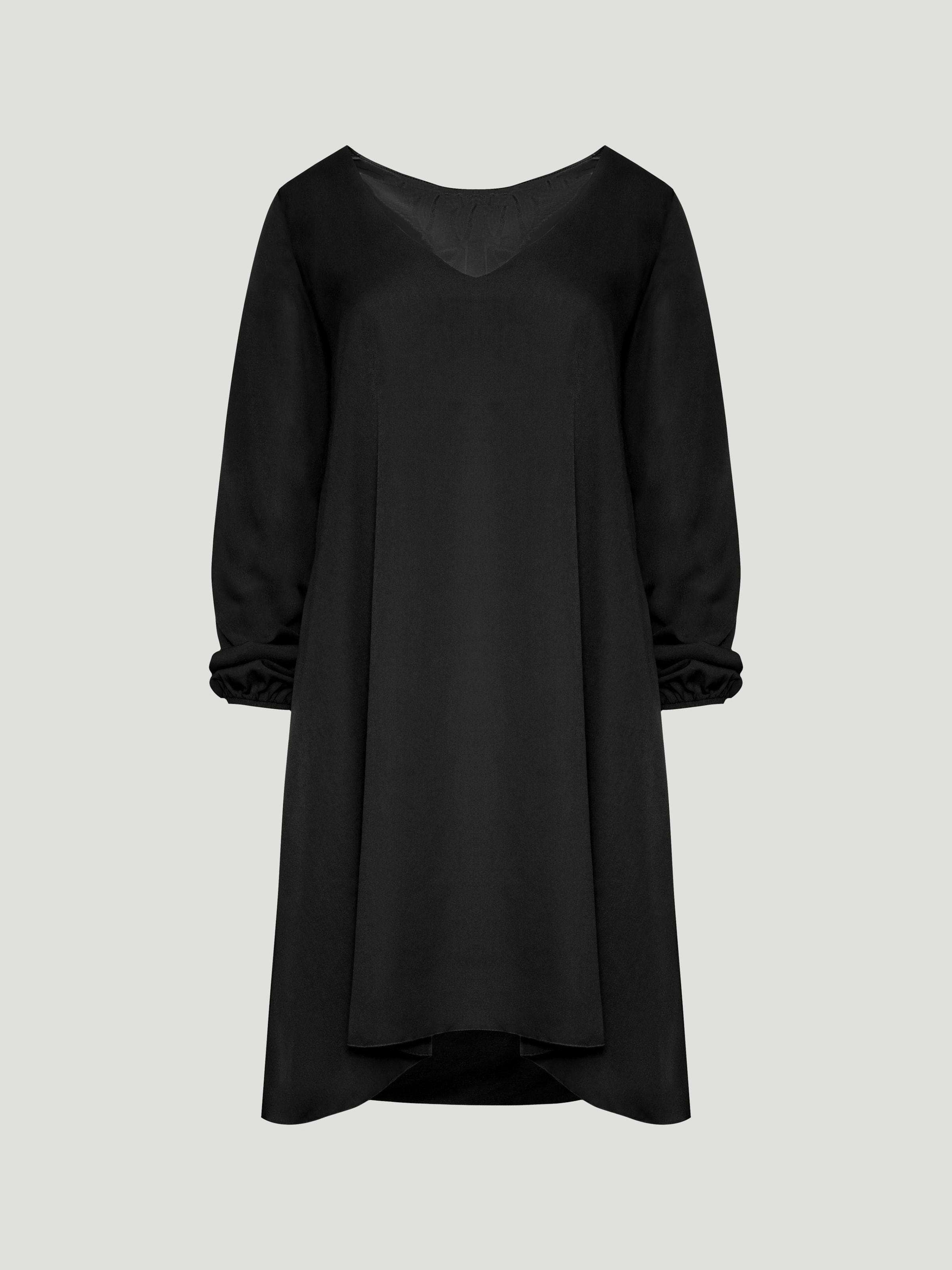 Kleid Schwarz 'black Label' In Usha rCBxedo