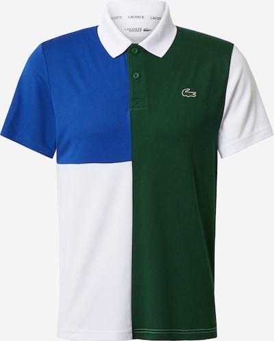 Lacoste Sport Functioneel shirt in de kleur Blauw / Groen / Wit, Productweergave