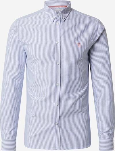 Les Deux Chemise 'Oliver Oxford' en bleu marine / blanc, Vue avec produit