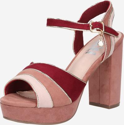 Sandalai iš Xti , spalva - odos / ryškiai rožinė spalva, Prekių apžvalga