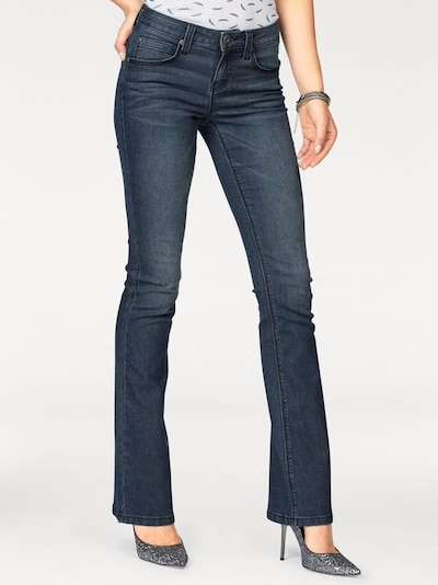 ARIZONA Bootcut-Jeans 'Shaping' in dunkelblau, Modelansicht