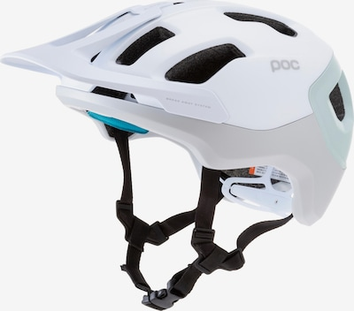 POC Fahrradhelm 'Axion Spin' in hellblau / weiß, Produktansicht