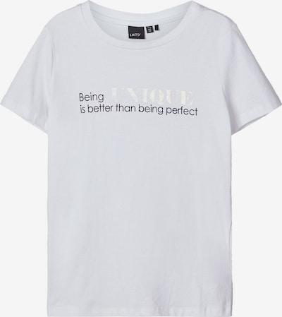 NAME IT Bedrucktes T-Shirt in weiß, Produktansicht