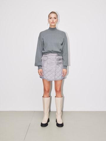 LeGer Cozy Miniskirt Look
