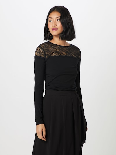 ABOUT YOU Shirt 'Esther' in schwarz: Frontalansicht