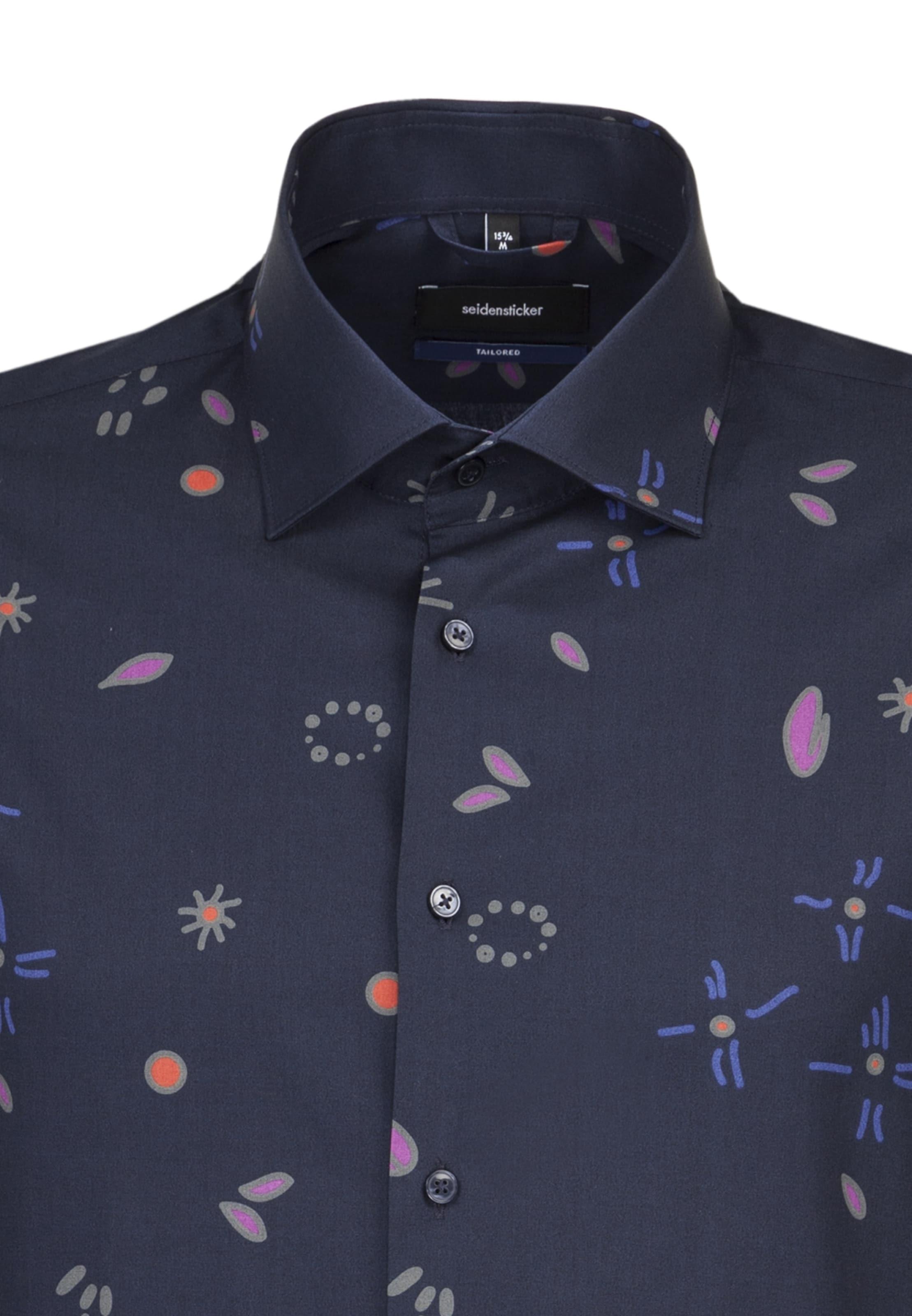 Hemd NachtblauMischfarben In In Seidensticker Seidensticker Hemd Seidensticker Hemd NachtblauMischfarben xoeWrBdC